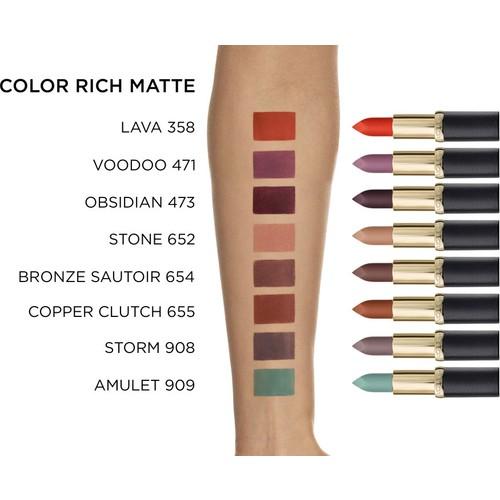 Loréal Paris Color Riche Matte Addiction Ruj 652 Stone Fiyatı