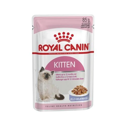 Royal Canin Kitten Instinctive In Jelly Yavru Kedi Jel Konservesi 85Gr