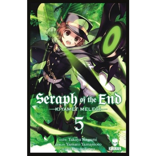 Seraph Of The End - Kıyamet Meleği # Cilt 5Takaya Kagami