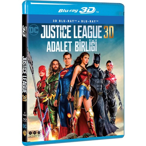 adalet birligi justice league 3d 2d blu ray disc