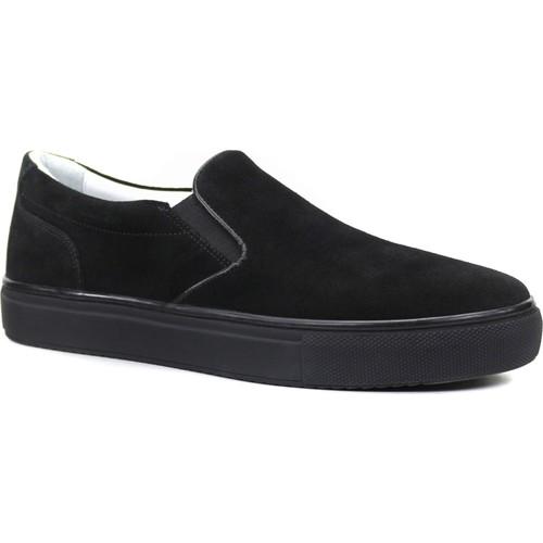 Collina 850 Siyah Süet Deri Erkek Ayakkabı