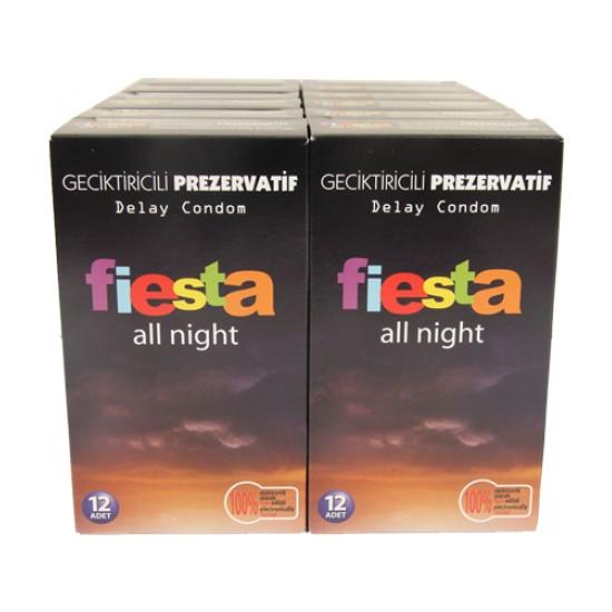 Fiesta Prezervatif All Night 144 Adet Condom