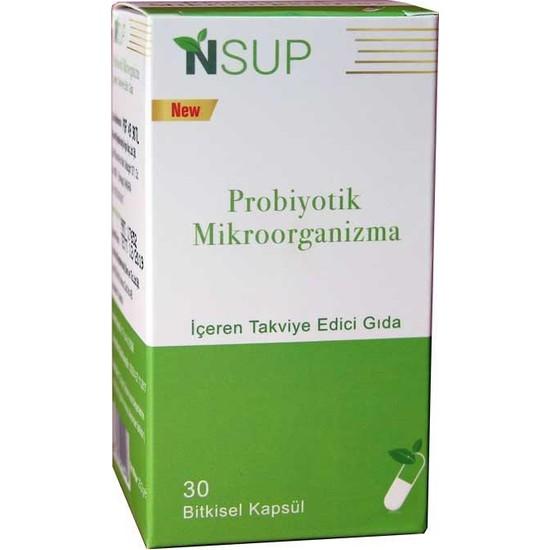 Nsup Probiyotik Mikroorganizma 30 Kapsül