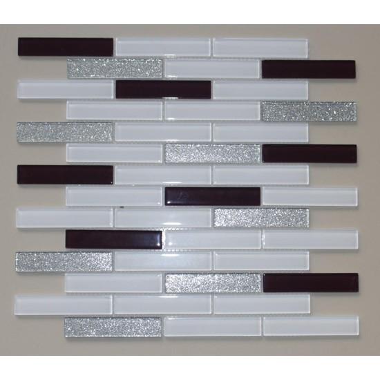 Mcm Mutfak Tezgah Arası Kristal Cam Mozaik Mp 470
