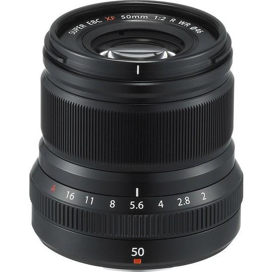 Fujifilm Fujinon Xf 50Mm F2 R Wr Lens Siyah