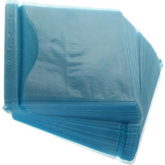 Torima CD-DVD Zarfları Çift Yönlü 100 Lü Paket Mavi