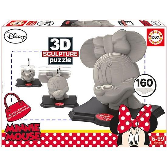 Educa 16970 - 3D Minnie Heykel Puzzle