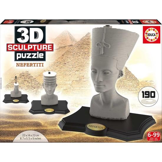Educa 16966 - 3D Nefertiti Heykel (Sculpture) Puzzle