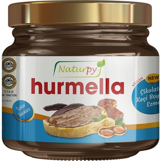 Naturpy Glutensiz Hurmella Çikolatalı Keçiboynuzu Ezmesi