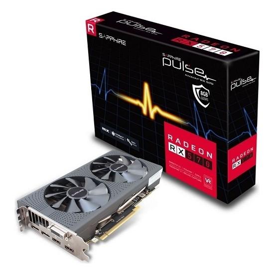 Sapphire AMD Radeon RX 570 8 GB DDR5(DX12) PCI-E 3.0 Ekran Kartı (11266-36-20G)