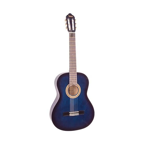 Valencia VC104 Klasik Gitar 4/4 (Mavi)