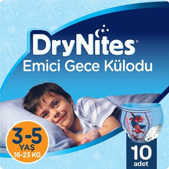 Huggies DryNites Erkek Emici Gece Külodu 3 - 5 Yaş 10 Adet