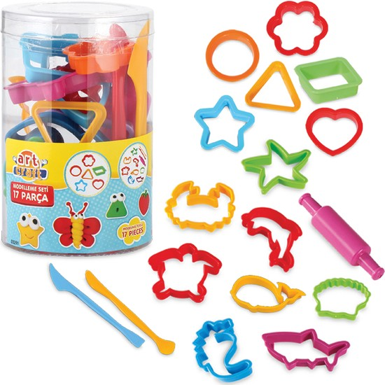 Fen Toys Art Craft Hamur Modelleme Seti Silindiri