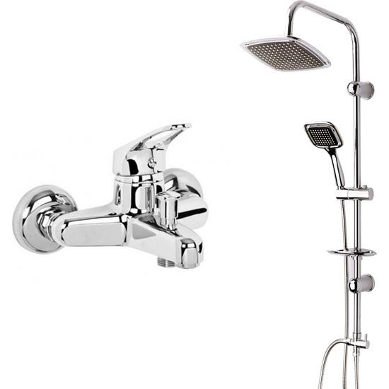 Modamix Ceylanlar Banyo Bataryası + Modamix Marakech Tepeduş Seti