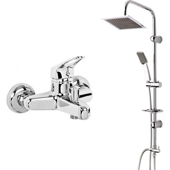 Modamix Ceylanlar Banyo Bataryası + Modamix Berlin Tepeduş Seti