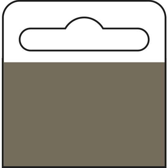 Aso Yapışkanlı Şeffaf Askı Etiketi 500 adet HT345