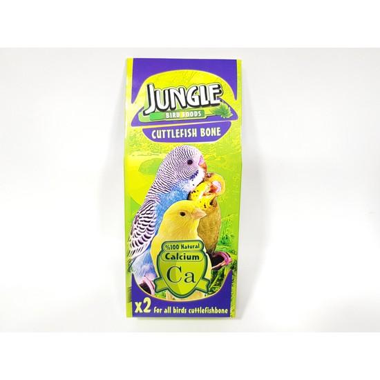Jungle Kuşlar İçin Mürekkep Kalamar Kemiği Gaga Taşi 2'li