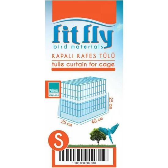 Fit Fly Alti Kapalı Kafes Tülü Small
