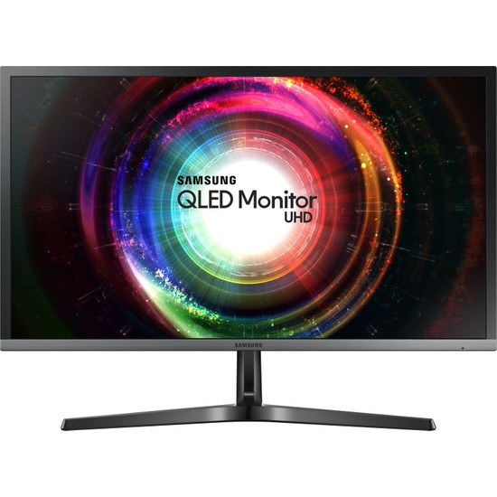 "Samsung LU28H750UQMXUF 27.9"" 1ms (Display+2xHDMI) 4K Ultra HD 10bit Freesync QLED Monitör"