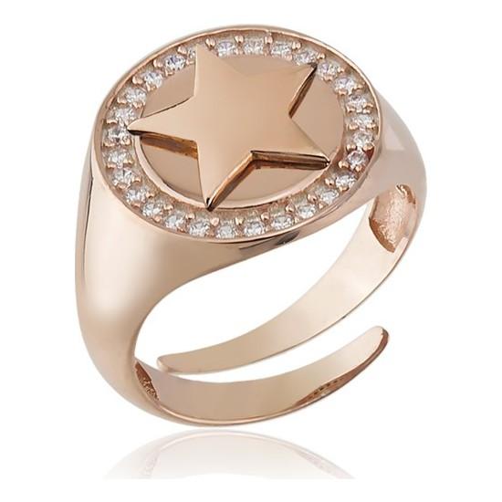 Paljewelry Taşlı Yıldız Eklem Yüzük