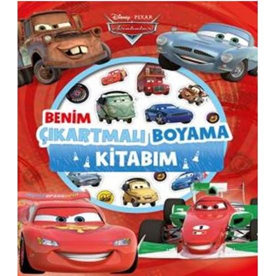 Disney Arabalar Benim Cikartmali Boyama Kitabim Fiyati