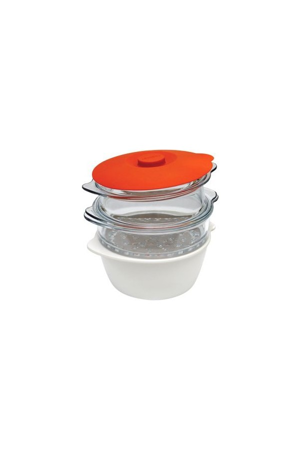 Pyrex cookware and Functional Multicook Steam Cooking