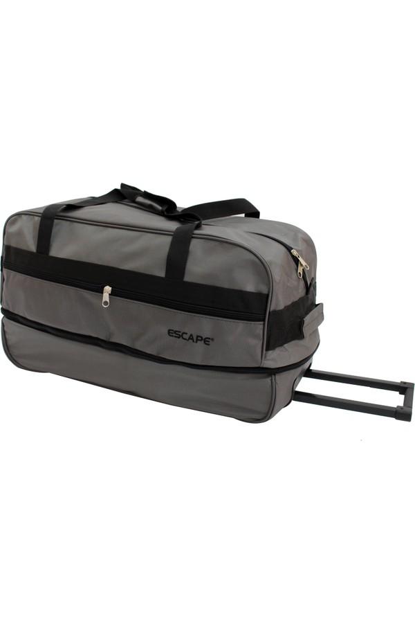 Escape 203-Gr Gray Czech Antifrost Two Wheel Travel Bag
