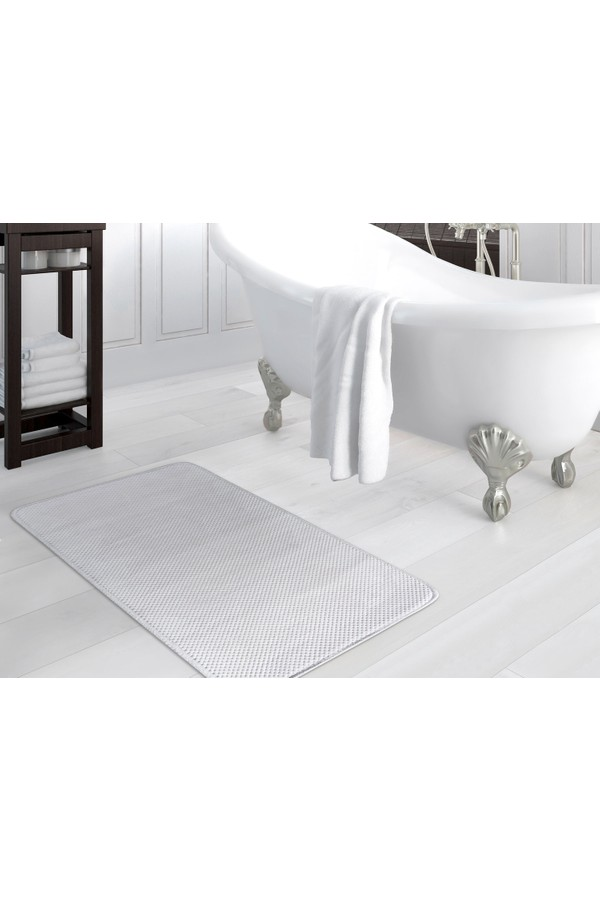 Madame Coco Gray Bath Mat