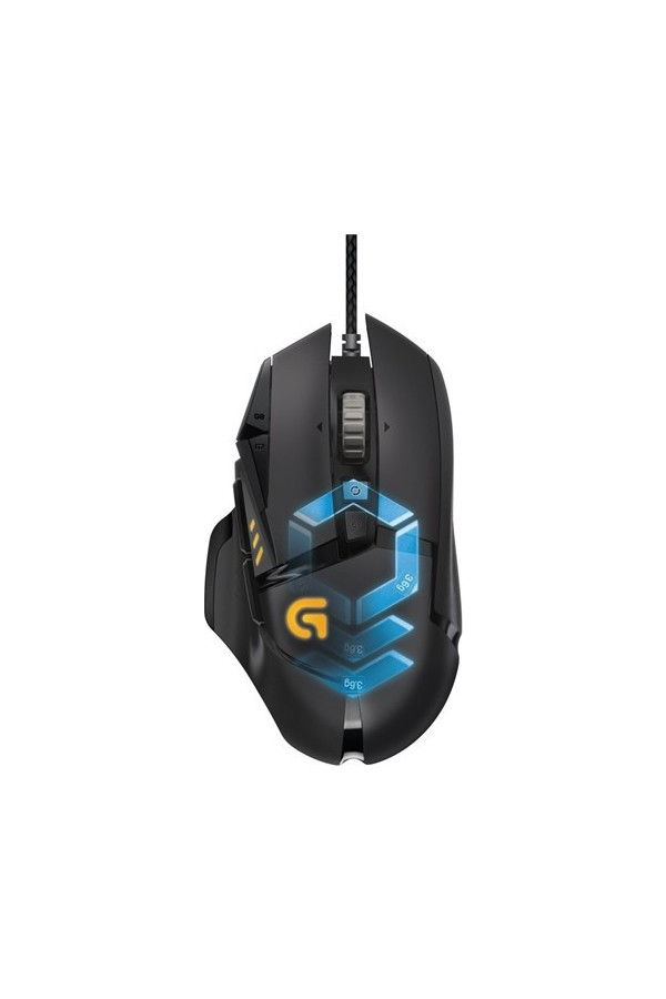 Logitech Gaming Mouse and Mouse Pad G502