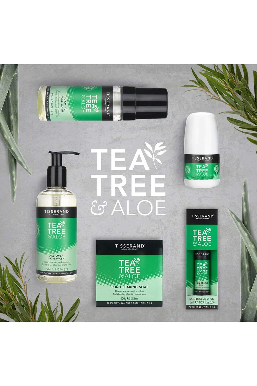 Aromatheraphy Tisserand Tea Tree & Aloe Vera Skin Care and Cleansing Gel 250 Ml