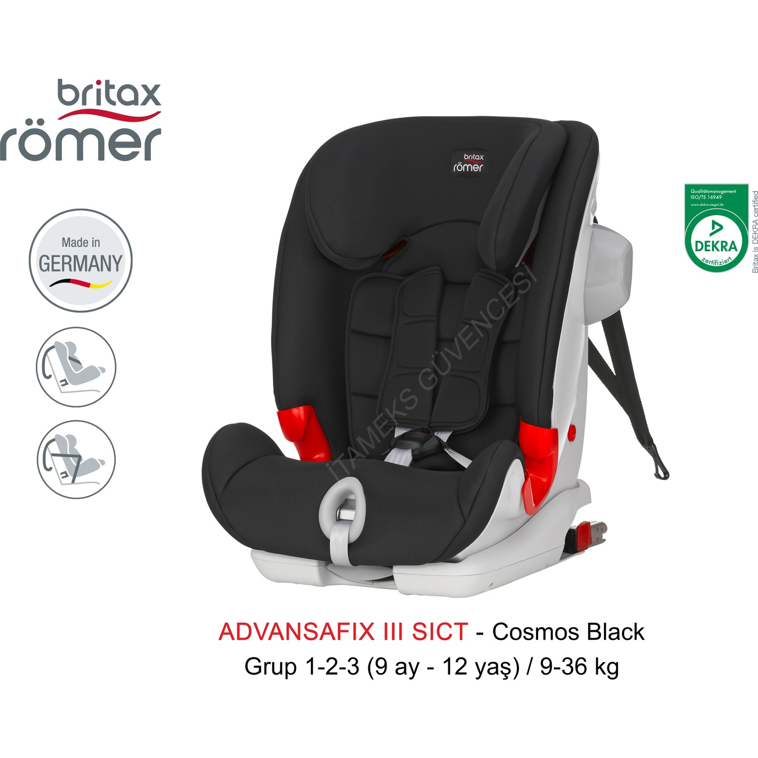 britax r mer advansafix iii sict 9 36 kg isofix 39 l oto. Black Bedroom Furniture Sets. Home Design Ideas