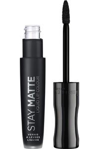 Rimmel London Black Matte Lipstick