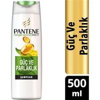 Pantene Şampuan Doğal Sentez Güç ve Parlaklık 500 ml