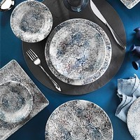 Kütahya Porselen Nano Krem 24 Parça Yemek Takımı 891007