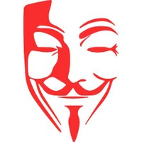 Smoke Vendetta Mask Sticker