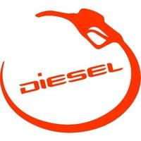 Smoke Diesel Depo Kapagı Sticker