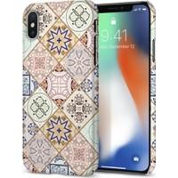 Spigen Apple iPhone XS / iPhone X Kılıf Thin Fit Design Edition Arabesque - 057CS22624