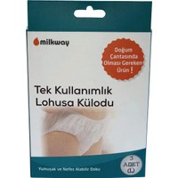 Milkway Tek Kullanımlık Loğusa Külodu