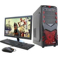 "Turbox TR5117 Intel Core i5 650 4GB 500GB R7 240 Freedos 18.5"" Masaüstü Bilgisayar"