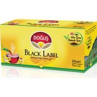 Doğuş Bardak Poşet Çay Black Label 25'li