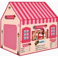 Furkan Toys Kız Çocuk Oyun Evi Oyun Çadırı Pastane Evcilik Oyuncak Kız Çadır