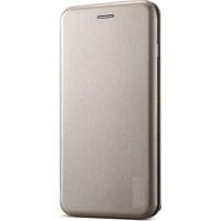 Teleplus iPhone 8 Mıknatıslı Flip Cover Kılıf Gold