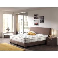 Sleeppeople 3D Bamboo Visco Çift Kişilik Yatak 160x200 cm + Visco Yastık