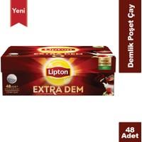 Lipton Extra Dem Demlik Poşet Çay 48'li