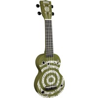 Mahalo Soprano Ukulele (Target Army Green)