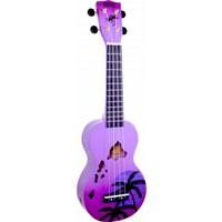 Mahalo Soprano Ukulele (Hawaii Purple Burst)