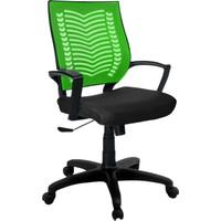 Büromotto Show Ofis Koltuğu, Bilgisayar ve Çalışma Sandalyesi - Yeşil Sırt