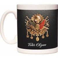 Osmanlı Arması Tuğra İsme Kişiye Özel Kupa Bardak