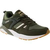 Jump 17660 Memory Foam Bağlı Haki Erkek Spor Ayakkabı