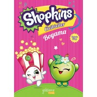 Shopkins Cicibiciler Boyama Kitabı Pembe1 Fiyatı